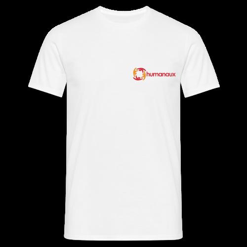 Männer T-Shirt (weiß) - Männer T-Shirt