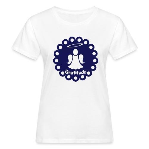 Tee shirt BIO Femme Ange de la gratitude - Women's Organic T-Shirt