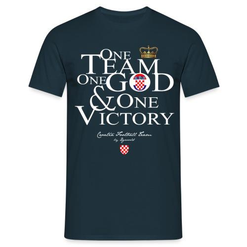 One Team Croatie - T-shirt Homme