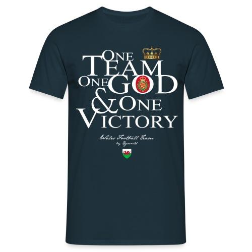 One Team Pays de Galles - T-shirt Homme