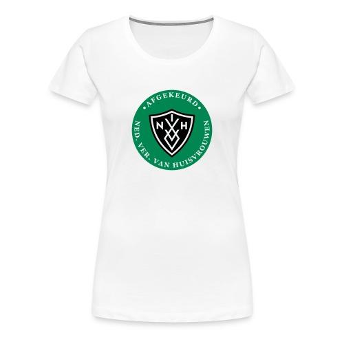 Vrouwen premium t-shirt - afgekeurd door de NVVH - Vrouwen Premium T-shirt