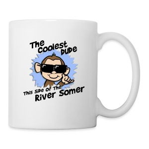The Coolest Dude this Side of the River Somer - Mug