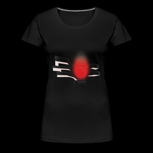Podgarić Monument Women Black - Women's Premium T-Shirt