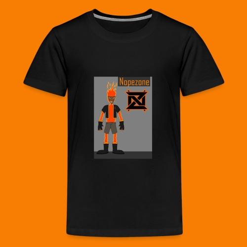 Nope T-Skjorten - Premium T-skjorte for tenåringer
