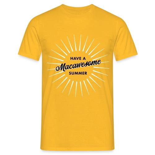 Macawesome Summer - Mannen T-shirt