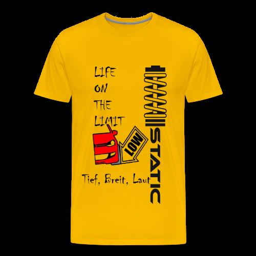 Premium Shirt Static - Männer Premium T-Shirt