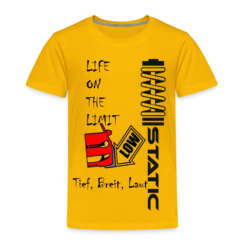 Premium Shirt Static - Kinder Premium T-Shirt