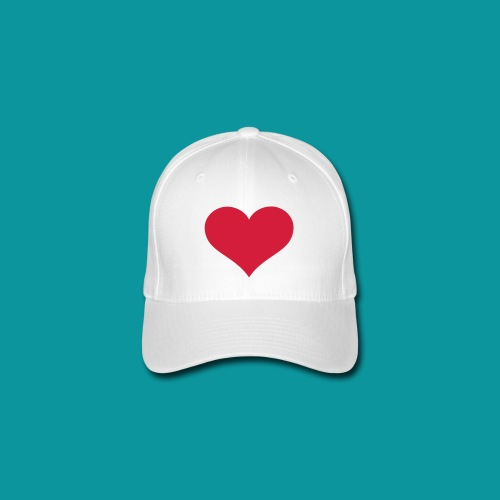 Heart Hat - Flexfit Baseball Cap