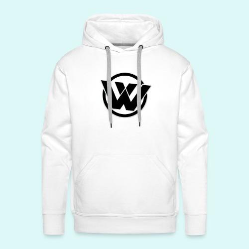 WaVe Clan Men's Hoodie (Black Logo) - Men's Premium Hoodie