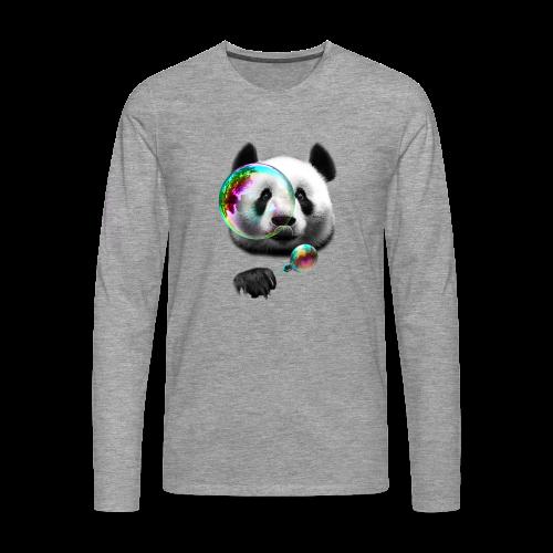 Panda Tee - Men's Premium Longsleeve Shirt