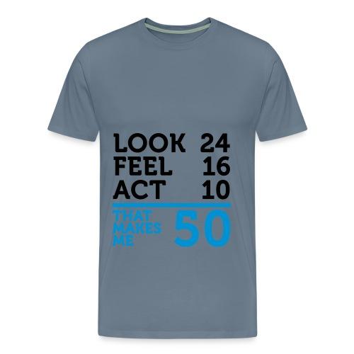 Nice Tshirt! - Herre premium T-shirt