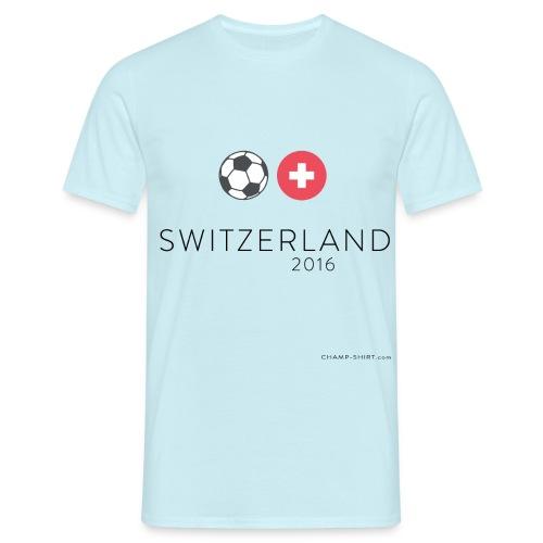 Schweiz Fußball SL - Männer T-Shirt