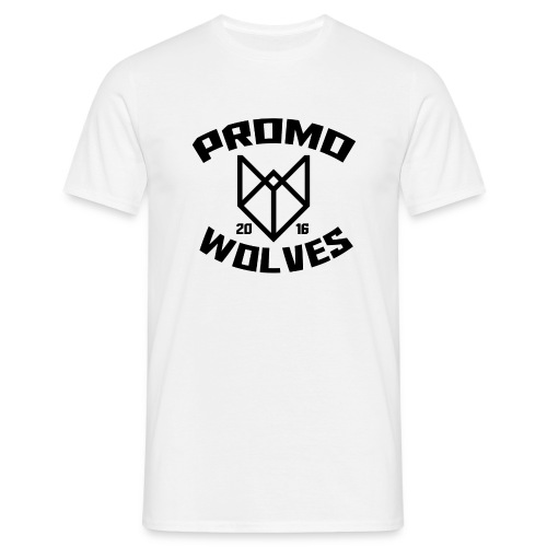 PromoWolves 2016 Tee White - Mannen T-shirt