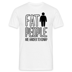 Fat people Logo Back T-shirt - T-shirt herr