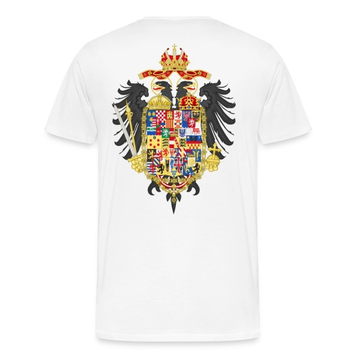 Bundesadler vom Kaiser Joseph II 1765 - Männer Premium T-Shirt