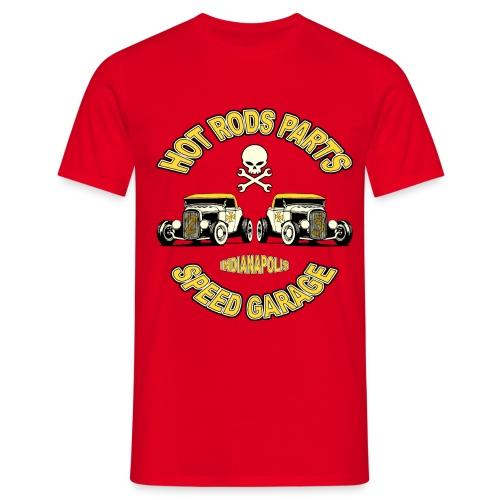 Vintage Hot rods Parts - Men's T-Shirt