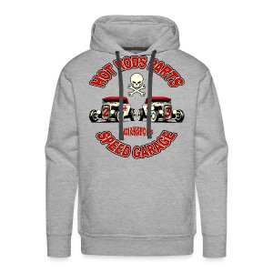 Vintage Hot Rods Parts design - Men's Premium Hoodie