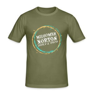 Midsomer Norton Born & Bred - Men's Slim Fit T-Shirt