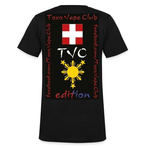 TVC edition T-SHIRT MEN  - Männer Bio-T-Shirt mit V-Ausschnitt von Stanley & Stella