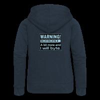 Warning Nerd Spruch Hoodie