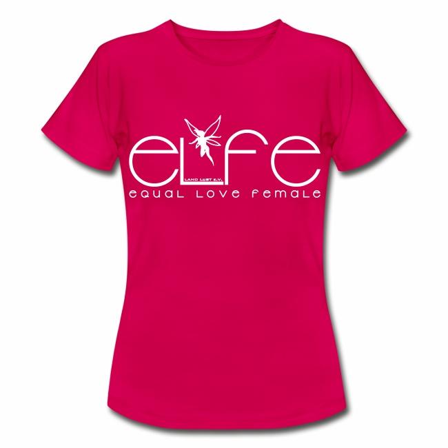 Damen T-Shirt elfe