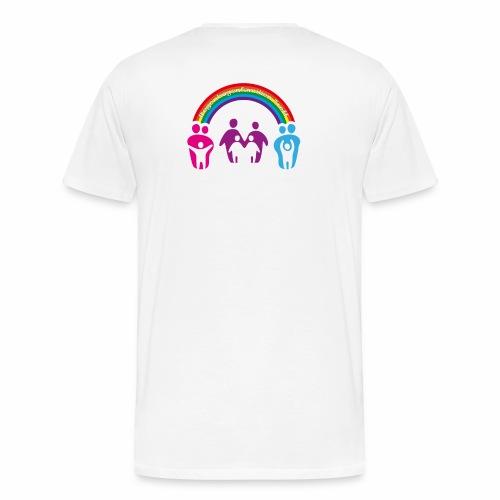 Herren T-Shirt Regenbogenfamilie - Männer Premium T-Shirt