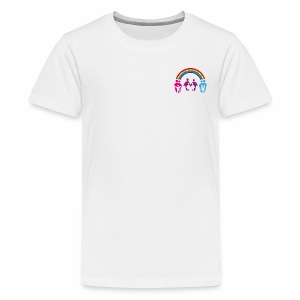 Teenager T-Shirt Regenbogenfamilie - Teenager Premium T-Shirt