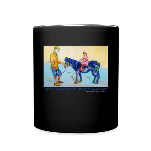Tasse mit dem Queen Motiv und - Tasse einfarbig