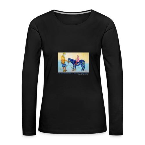 Damen Langarm Shirt - Frauen Premium Langarmshirt