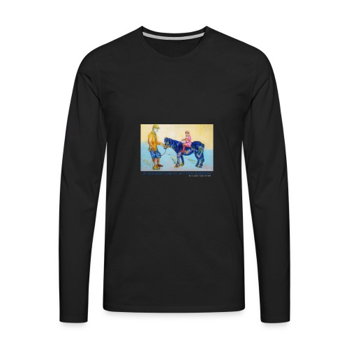 Langarm Shirt Herren - Männer Premium Langarmshirt