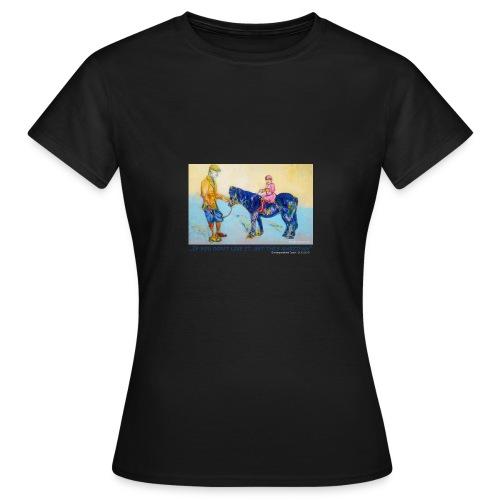 Damen T-Shirt  - Frauen T-Shirt