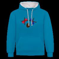 Kaffee statt rote/blaue Pille Hoodie (Unisex)