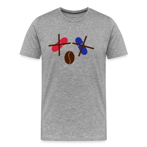 Kaffee statt rote/blaue Pille T-Shirt - Männer Premium T-Shirt