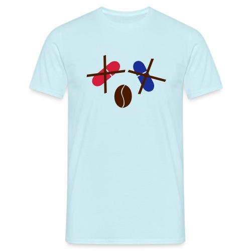 Kaffee statt rote/blaue Pille T-Shirt - Männer T-Shirt