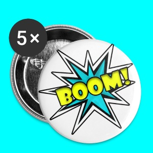 Boom Badges - Buttons large 56 mm