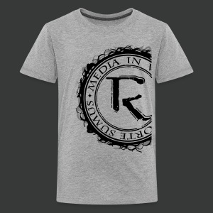 Relinqished Logo Side - Teens - Teenager Premium T-Shirt