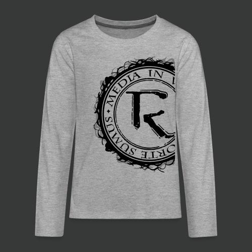 Relinqished Logo Side - Teens - Teenager Premium Langarmshirt