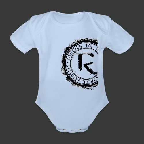 Relinqished Logo Side - Baby - Baby Bio-Kurzarm-Body