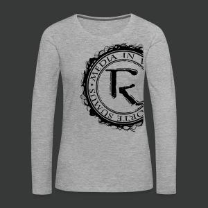 Relinqished Logo Side - Ladies Longsleeve - Frauen Premium Langarmshirt
