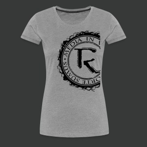 Relinqished Logo Side - Ladies Premium Shirt - Frauen Premium T-Shirt