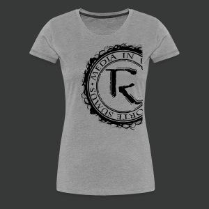 Relinqished Logo Side - Ladies Premium Shirt - Frauen Premium T-Shirt