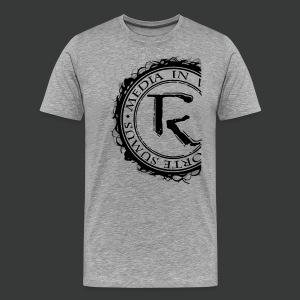 Relinqished Logo Side - Mens Premium Shirt - Männer Premium T-Shirt