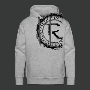Relinqished Logo Side - Mens Hooded Sweatshirt - Männer Premium Hoodie