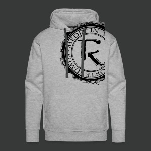 Relinqished Logo Side - Mens Hooded Sweatshirt - Männer Premium Hoodie