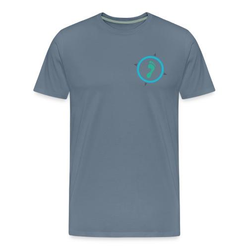 Footsteps Casual T-Shirt - Männer Premium T-Shirt