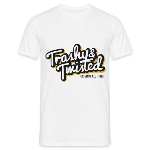 Trashy and Twisted logo shirt - Men's T-Shirt