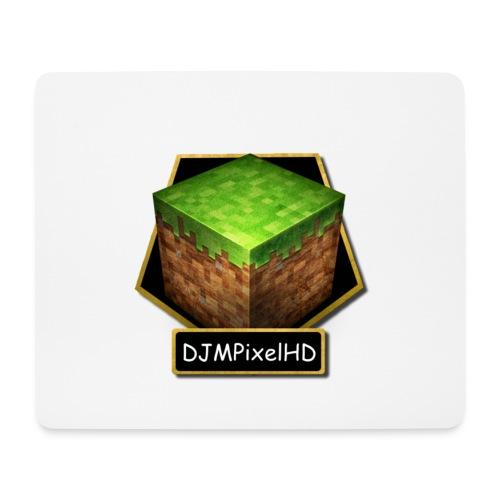 Mousepad Weiß- Logo - Mousepad (Querformat)
