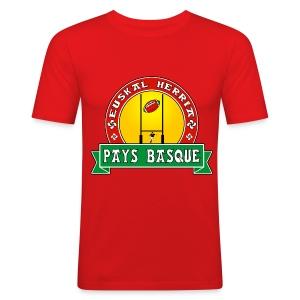 Basque Sport - Tee shirt près du corps Homme