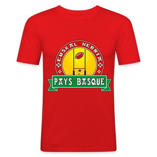 Basque Sport - T-shirt près du corps Homme