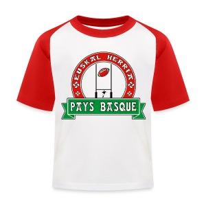 Basque Sport - T-shirt baseball Enfant